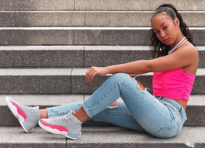 jordan 12 gs racer pink Shop Clothing
