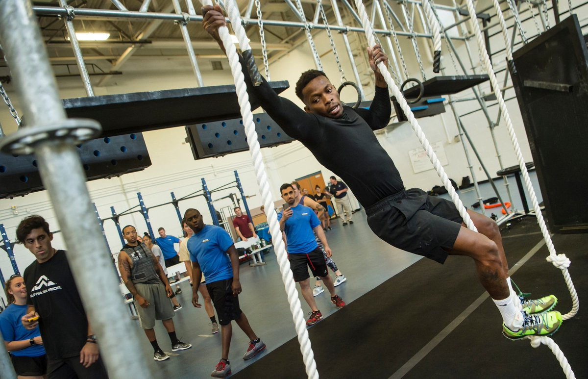 Its already #Wednesday, but were just getting started! Read more about how Team Charleston competed against other Airmen from across the AF in the Alpha Warrior Super Regional event hosted at JB Charleston. Were fit to fight! #WednesdayMotivation jbcharleston.jb.mil/News/Article/1…