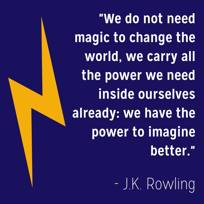 Happy birthday to J.K. Rowling & Harry Potter!