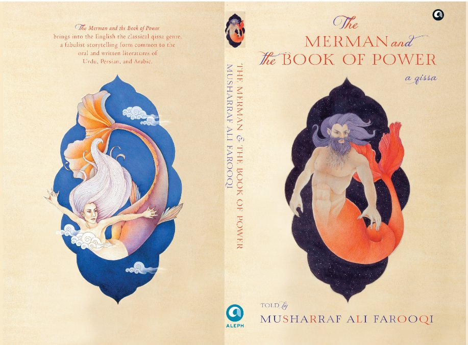 Pleased to announce my new book:THE MERMAN AND THE BOOK OF POWER: A QISSATold by Musharraf Ali FarooqiOut from Aleph Book Company in OctoberPre-order link available for the Pakistan edition:https://www.mafarooqi.com/qissas/the-merman-and-the-book-of-power…