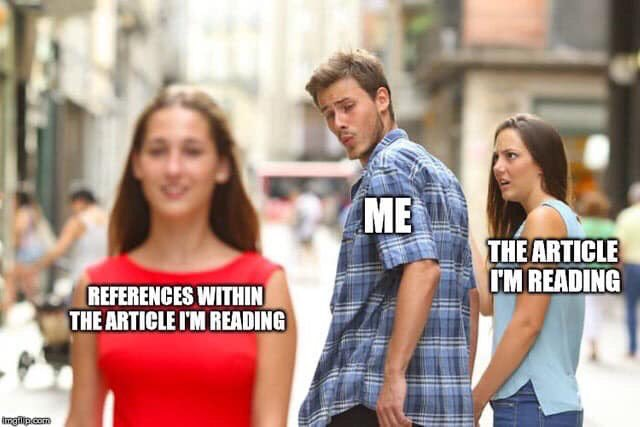I've never related to a meme more in my life #gradschool