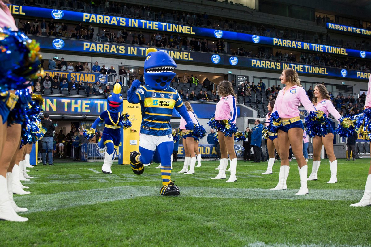Parramatta Eels On Twitter The Legends At Sarraf Strata Have Now Thrown Their Support Behind The Blue Gold And Will Sponsor Our Biggest Cheerleaders Sparky And Sparkles For The 2020 Season