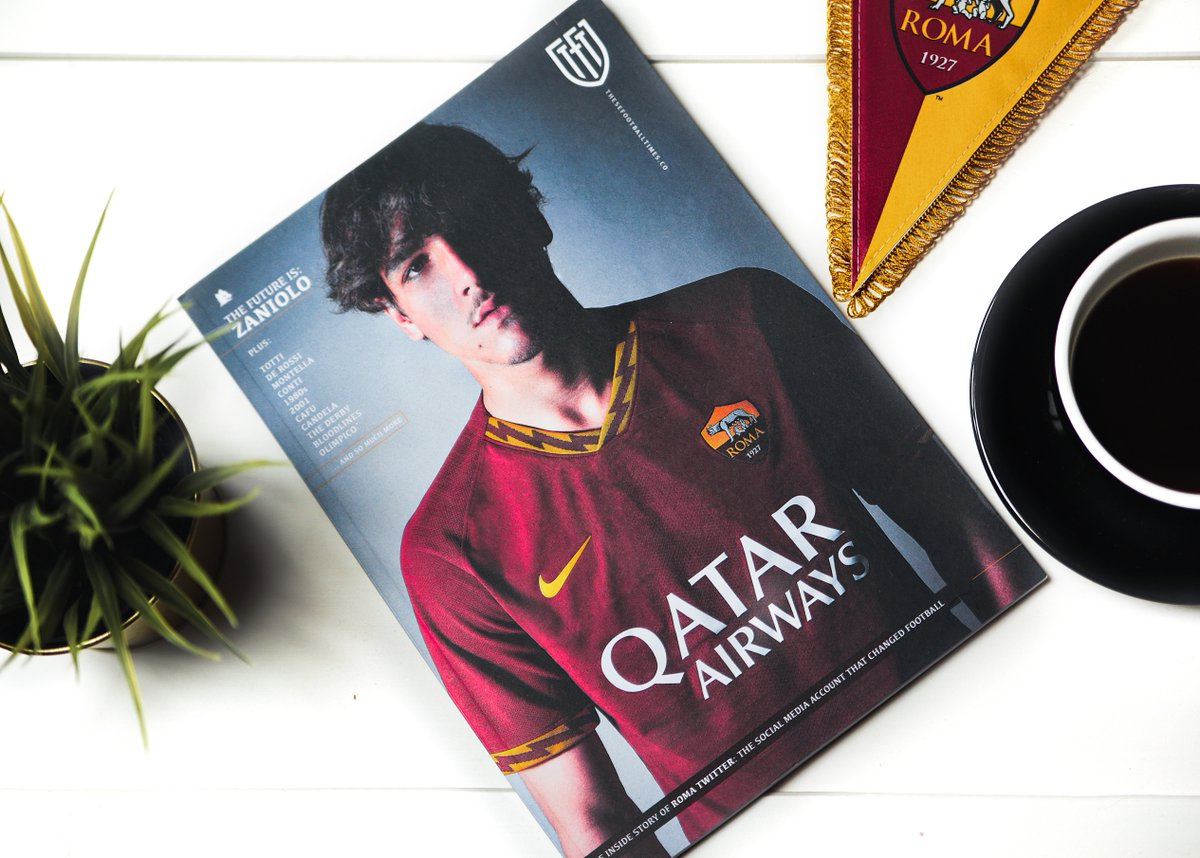 Weve got three copies of the stunning @ASRomaEN magazine to give away for those who missed out. Entering is a doddle: simply RT this and follow @thesefootytimes to stand a chance. Easy. Winners announced on Monday. #DajeRoma