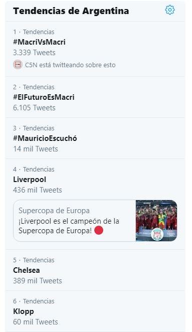 #MacriVsMacri Foto