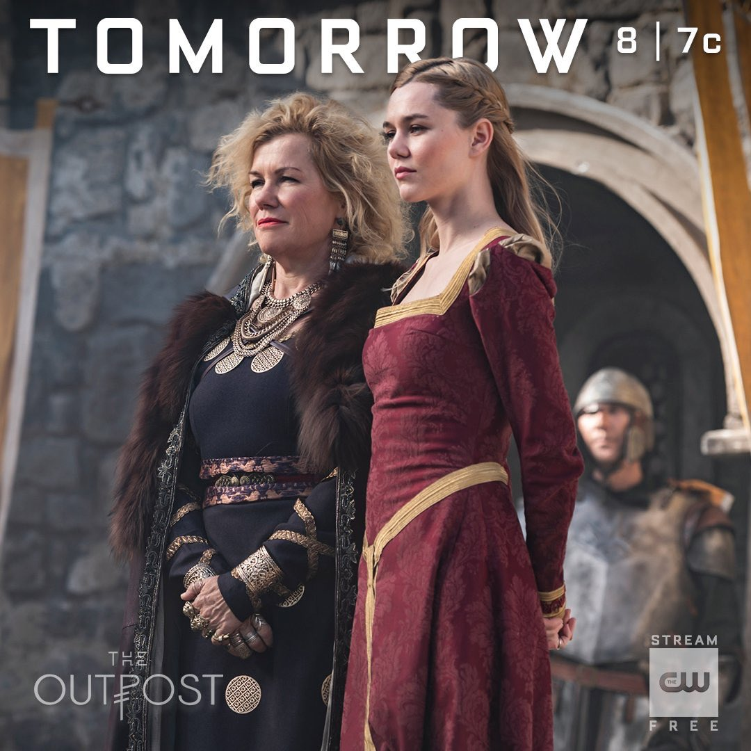 They're taking charge. #TheOutpost is new TOMORROW at 8/7c! 🛡⚔️🖤