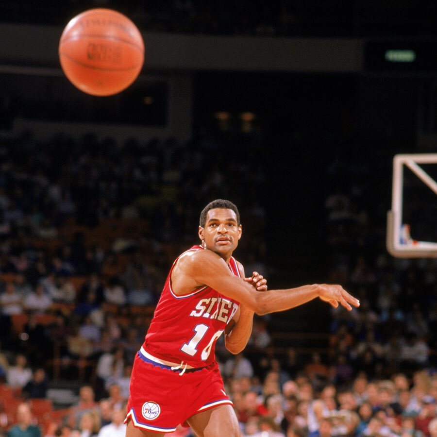 Maurice Cheeks x #NBAAssistWeek   Can you name where Mo stands on the NBA's all-time assists list?