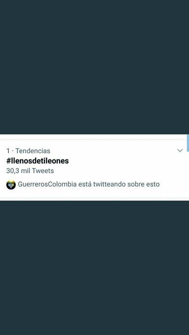 #llenosdetileones Photo
