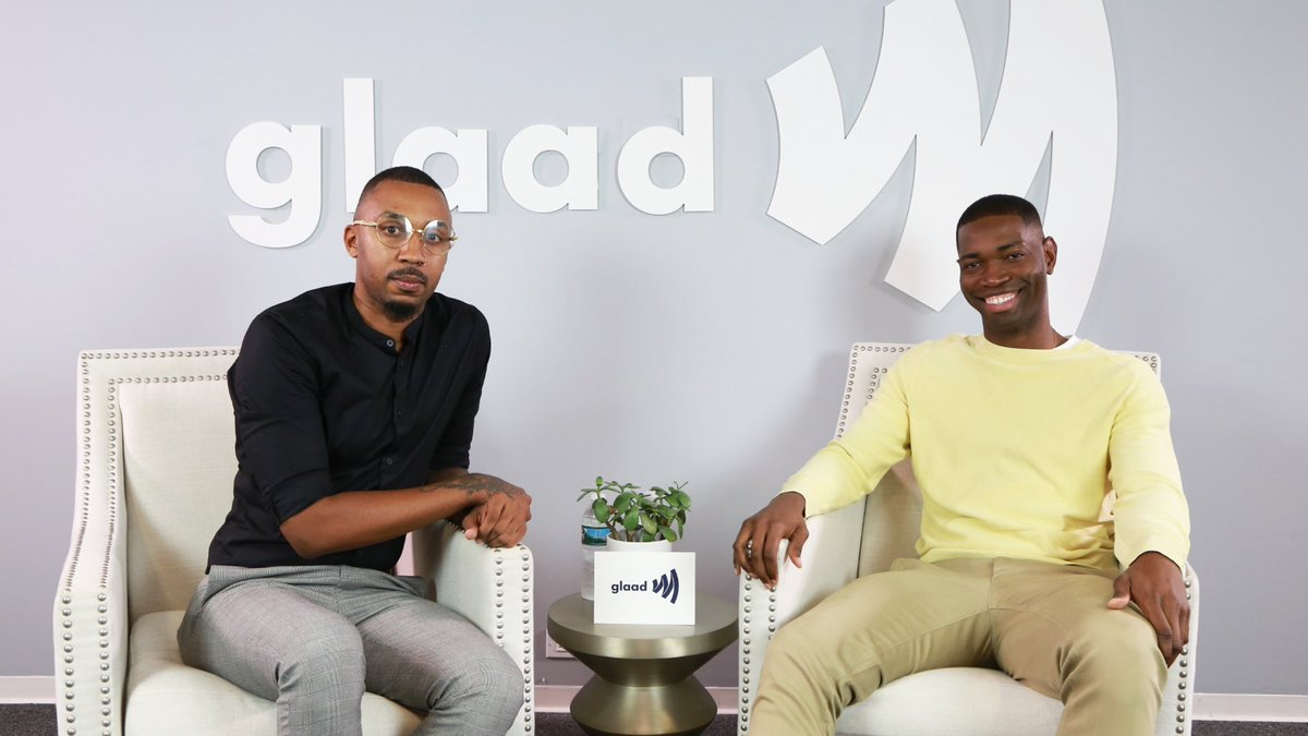 @davidmakesman is airing now! But after checkout @glaad exclusive interview by @IamGMJohnson with the genius @octarell here: facebook.com/GLAAD/videos/7… #DavidMakeMan #QPOC #RepresentationMatters