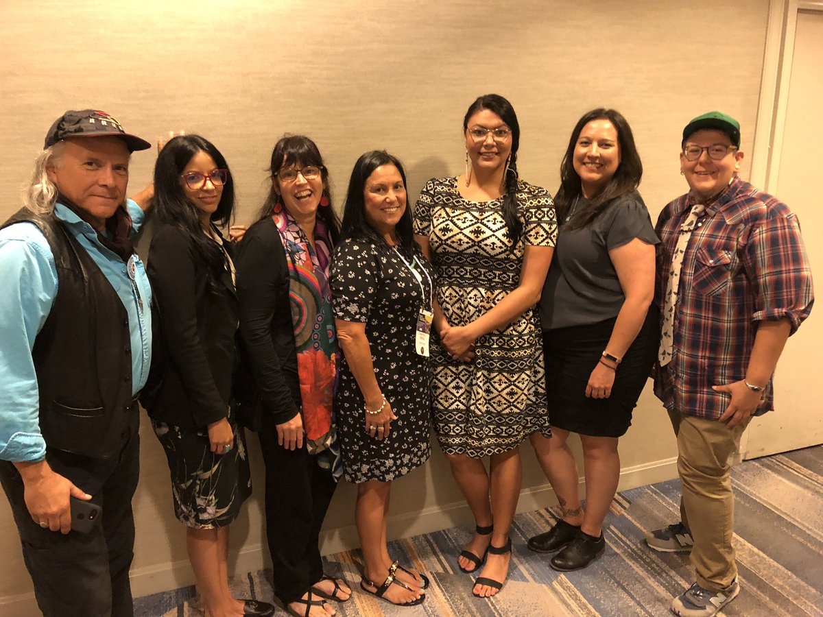 Working group for Sociology of Indigenous Peoples & Native Nations appeared before the ASA Council. Worked together to advocate for Indigenous-centered sociology & Native sociologists. #ASA2019