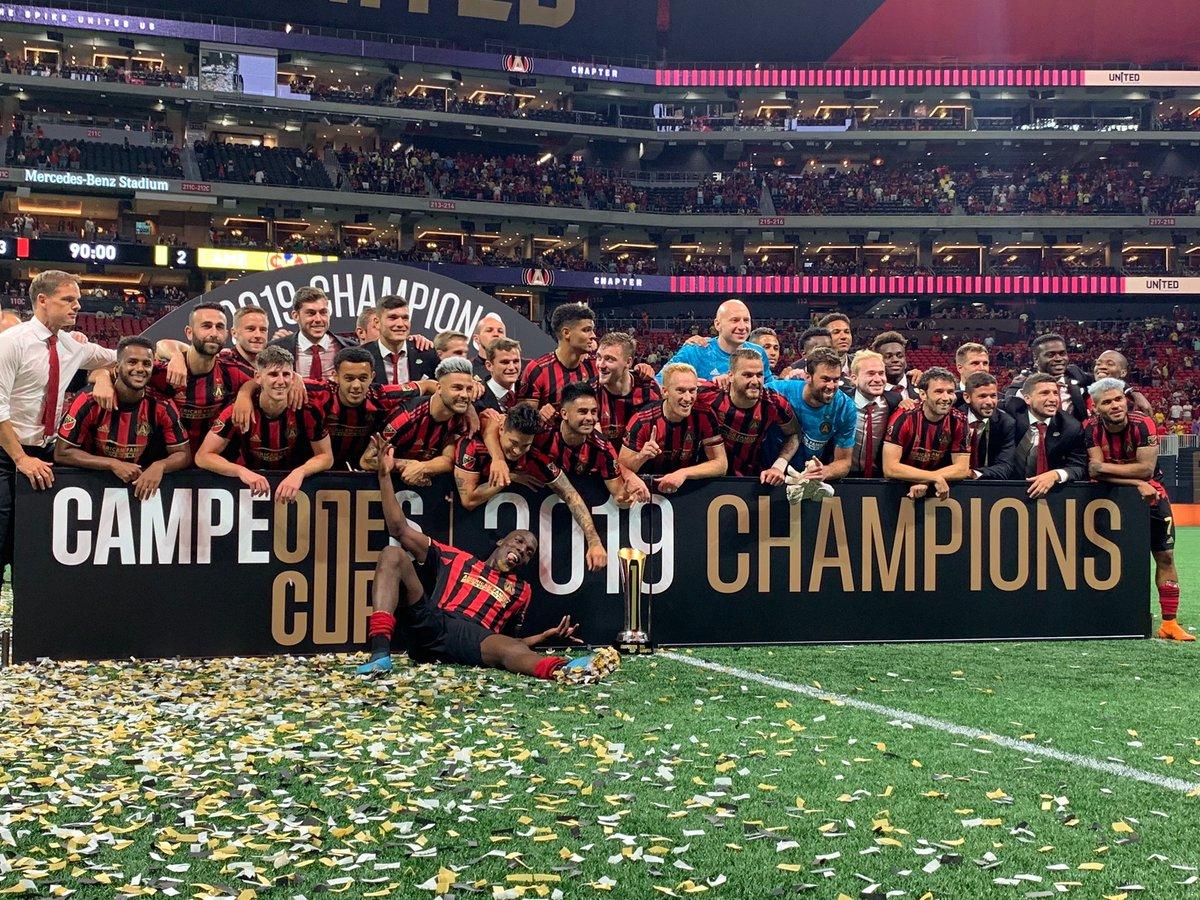 Atlanta United Wins Campeones Cup