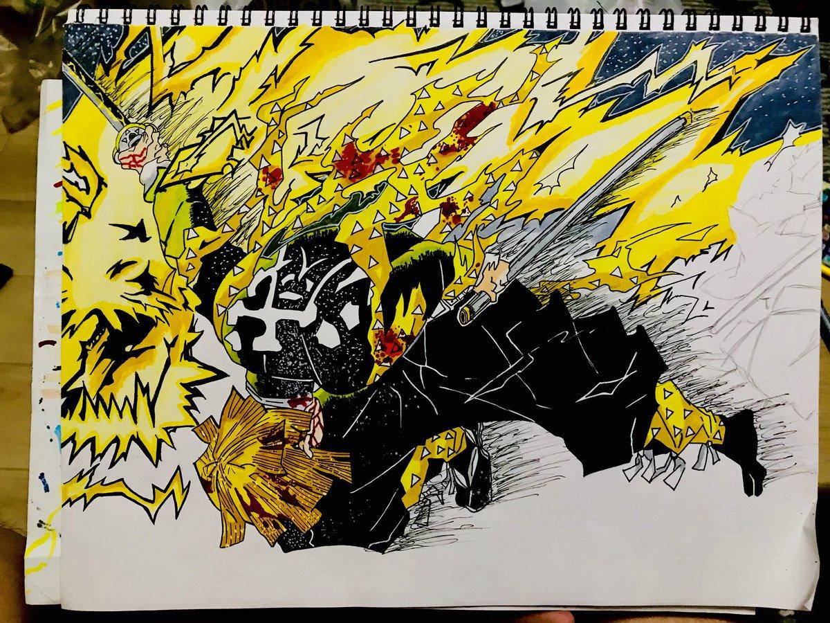 漆 ノ 火 型 雷神 呼吸 の 雷