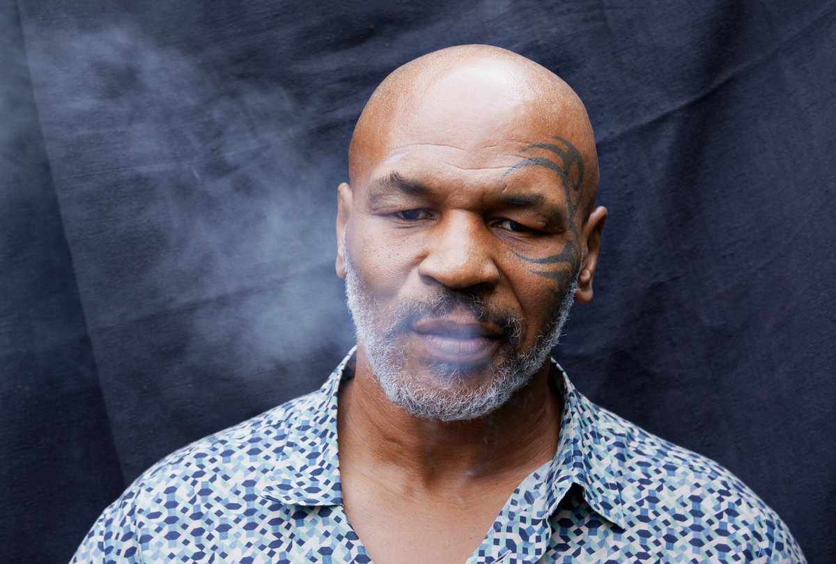 "Mike Tyson says he smokes $40K worth of weed a month.  ""We smoke ten tons of weed a month at the ranch.""  https://t.co/qQn0ln4aKa https://t.co/n9n27spDZ0"