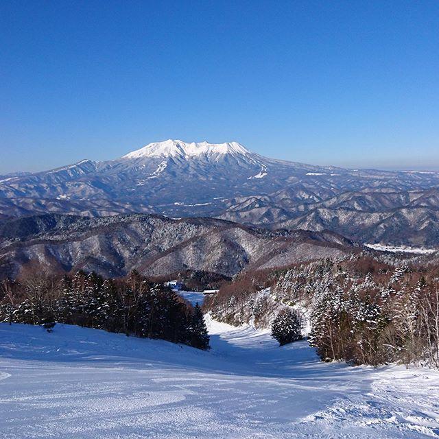 御嶽 山 スキー 場