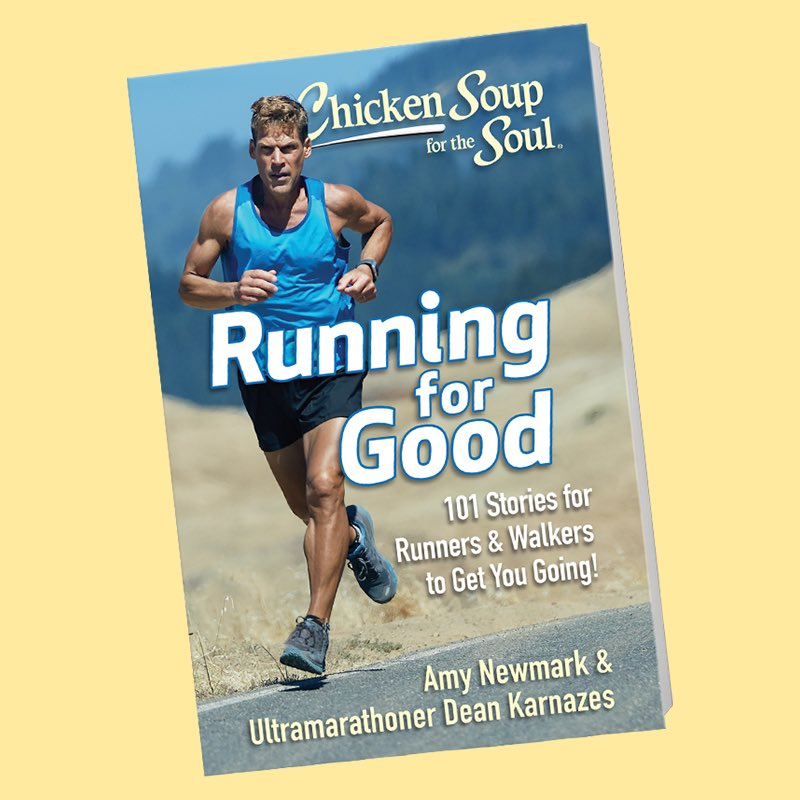 Looking for some inspirational late summer reading? Check out @ChickenSoupSoul Running for Good. 101 moving stories that will stir your spirit. amzn.to/304QgIB