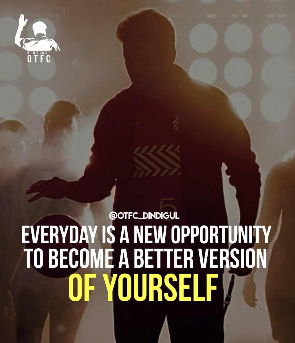 Everyday is a New OPPORTUNITY to Become a Better VERSION of YOURSELF  ! #ThursdayMotivation #ThalapathyVijay<br>http://pic.twitter.com/UqCHySaS6f