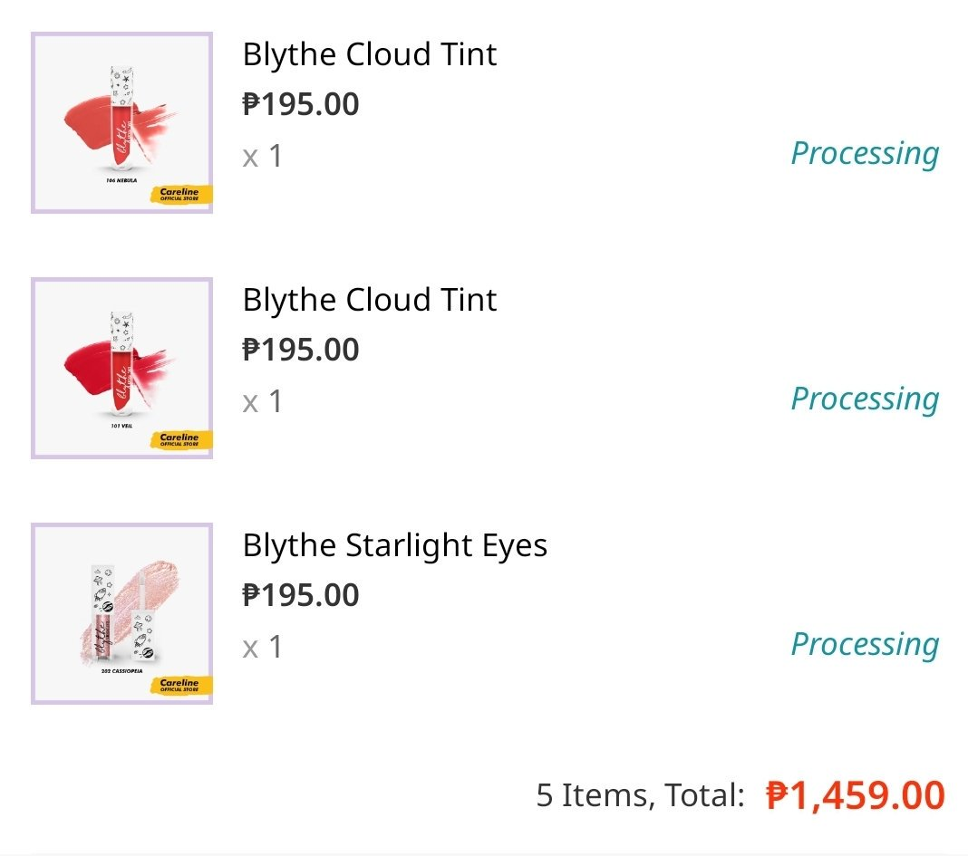Went a little crazy after watching @maealayug reviews to @iamandrea_b blythebycareline