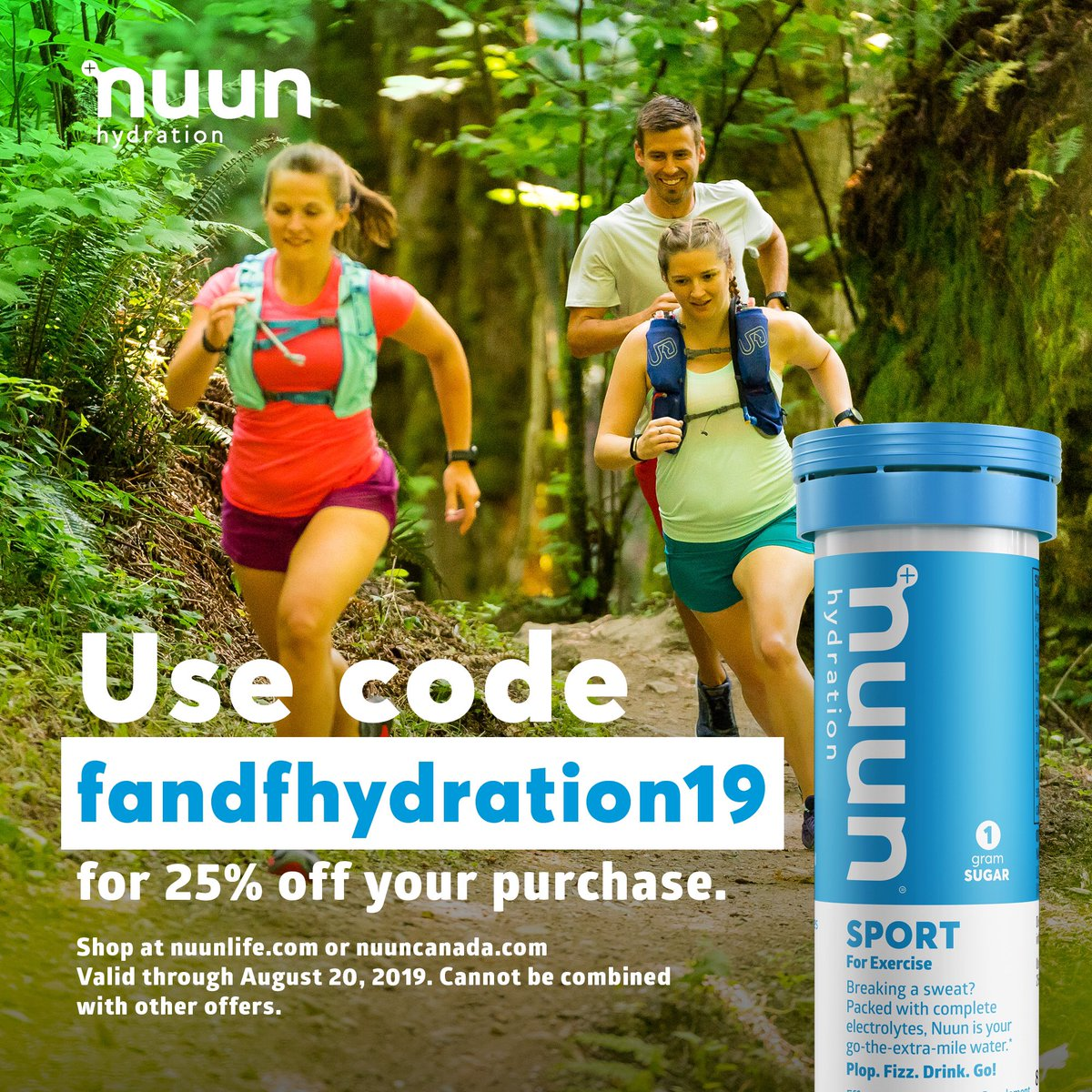 Drink up, because 100 degree days are here to get you! #nuunlife #nuunlove #nuunhydration<br>http://pic.twitter.com/UebzsEFoLa