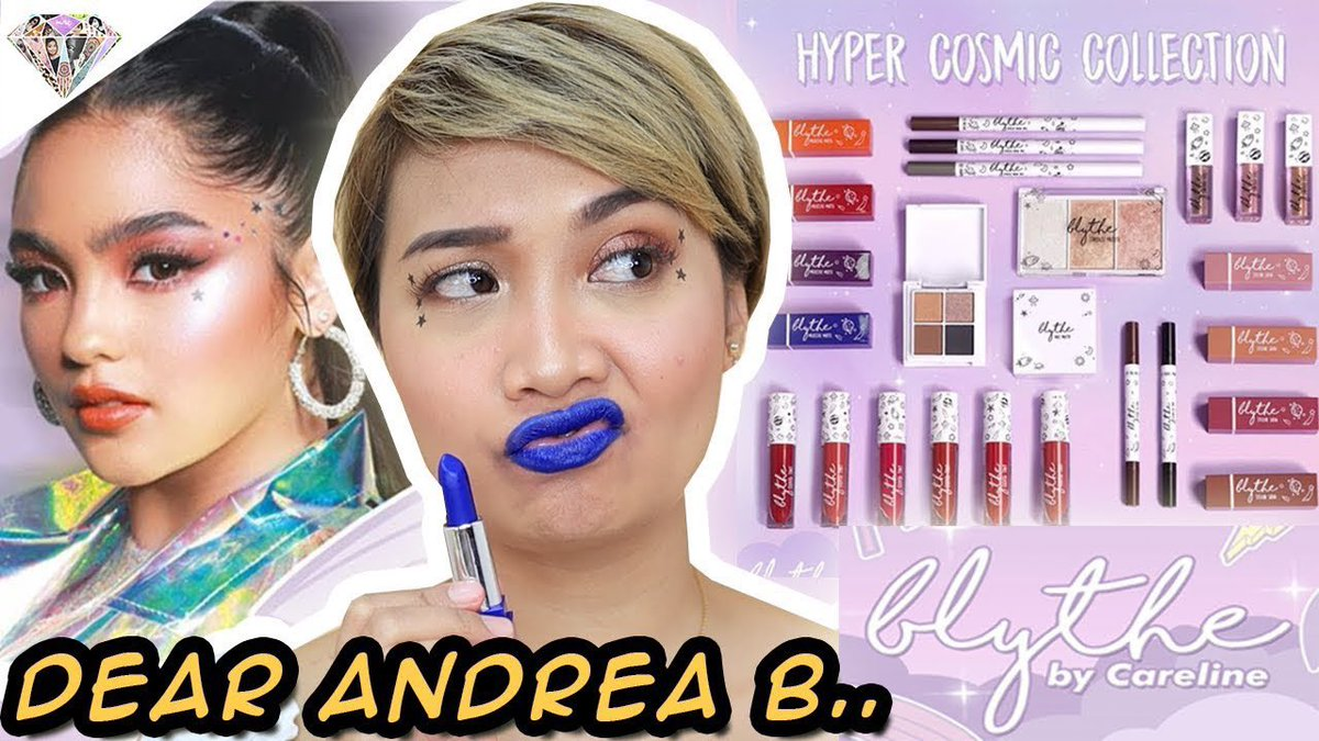 Ito na mga kabessy!!! Let's try @iamandrea_b @blythecosmetics by @carelineph 💕💕 youtu.be/qbyQwR44uBU