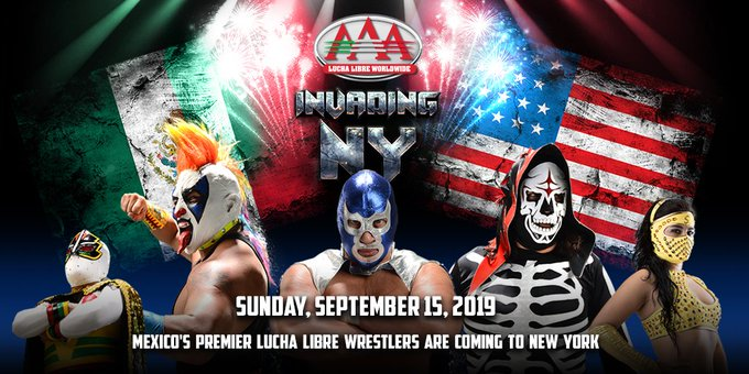 "AAA ""Invading NY"" Moved To Hulu Theater At MSG, First Matches Announced"