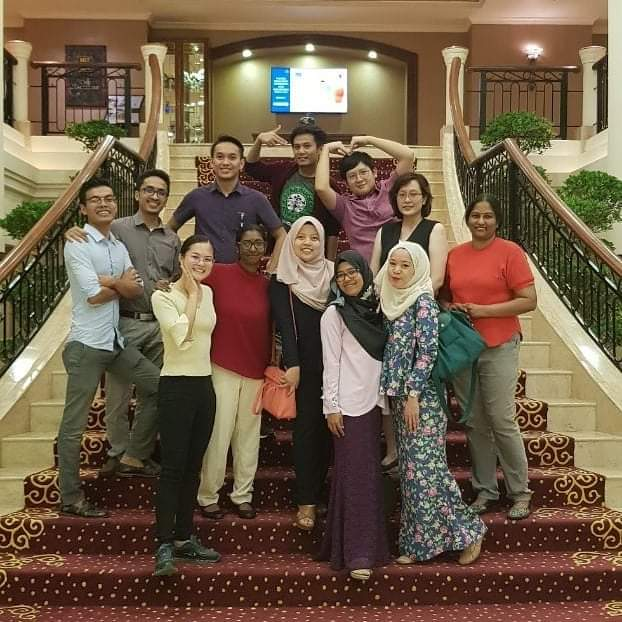 My lab colleagues. We may bitch and get mad at each other, but in the end it's still us against the entire hospital.  Even ex-cols still come for our raya/deepavali/cny parties. People who get yelled at together stay together, I guess  <br>http://pic.twitter.com/prqSQgFQyX