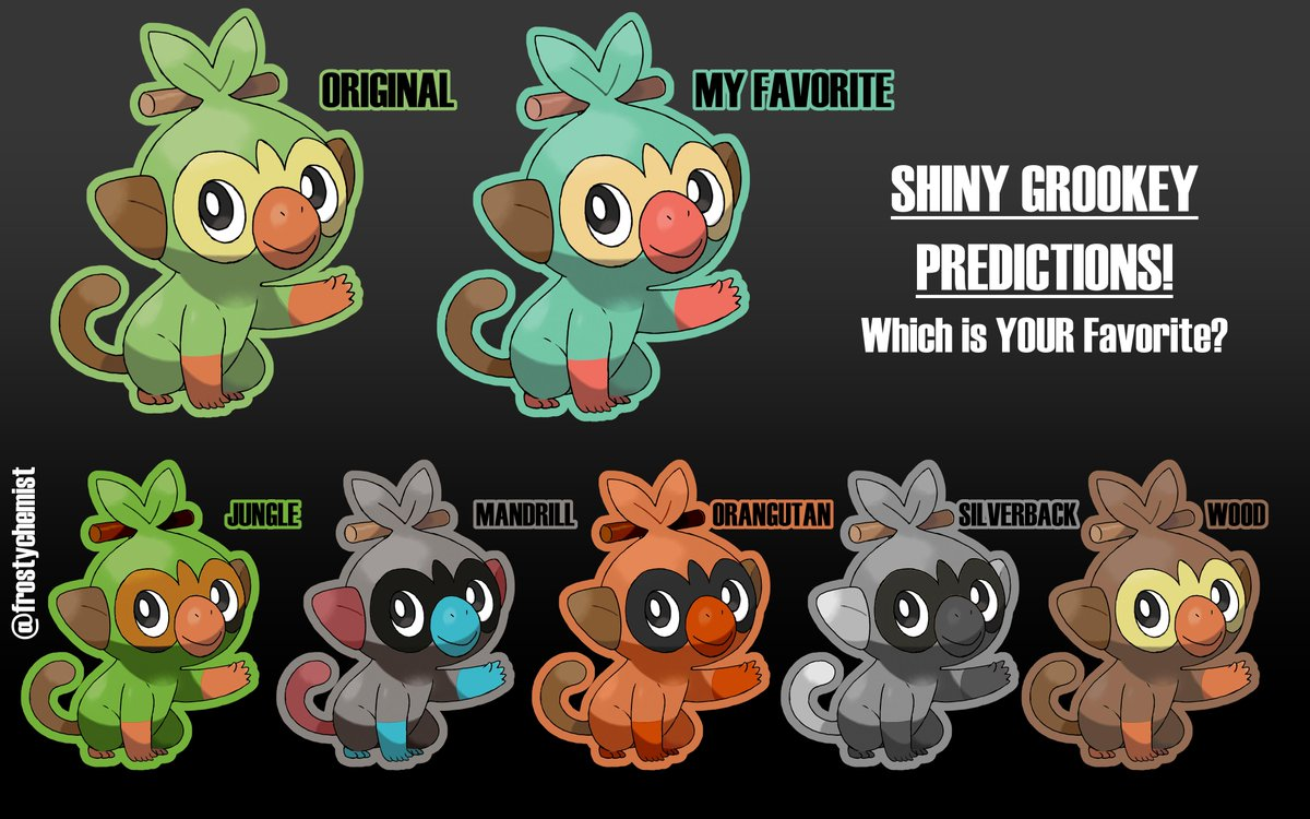 Hashtag Shinygrookey Na Twitteru We haven't see the evolutions yet, but. twitter
