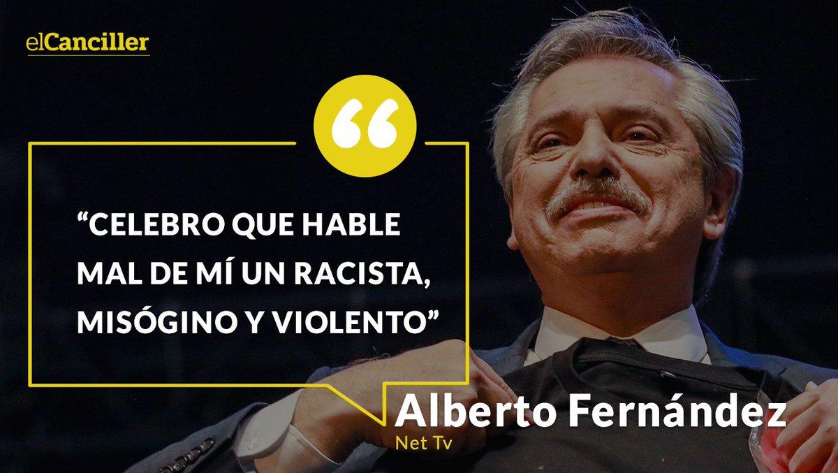 [AHORA] Alberto Fernández le contestó a Bolsonaro. https://t.co/rZiFeb9sAl