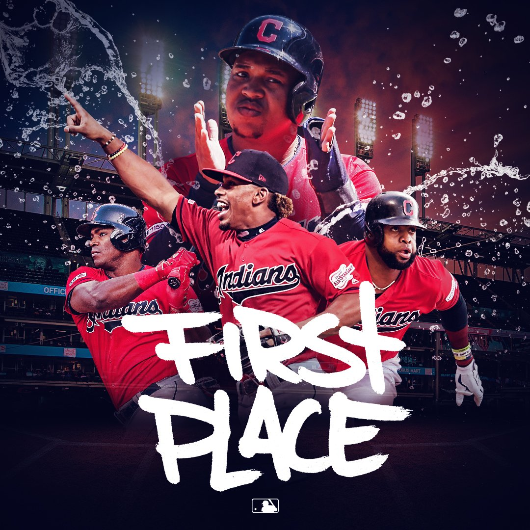 The @Indians are back in first place.  Are they there to stay?