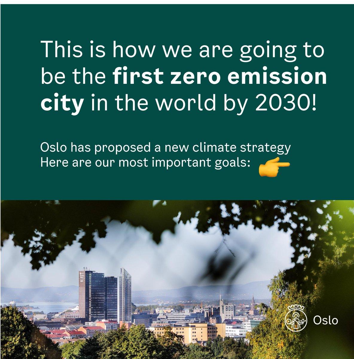 Oslo European Green Capital 2019 (@GreenOslo2019) | Twitter