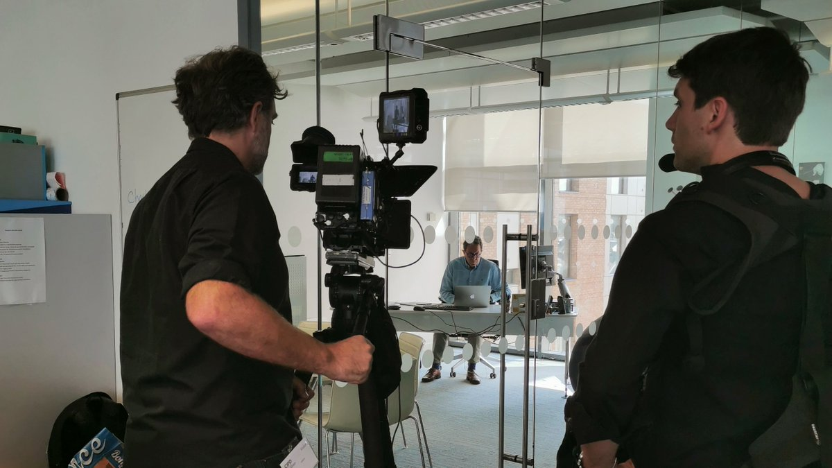 Were filming today @CIPD HQ with @Cheese_Peter and our @StepsAhead mentors and mentees about their #mentoring journey! #TuesdayMotivation