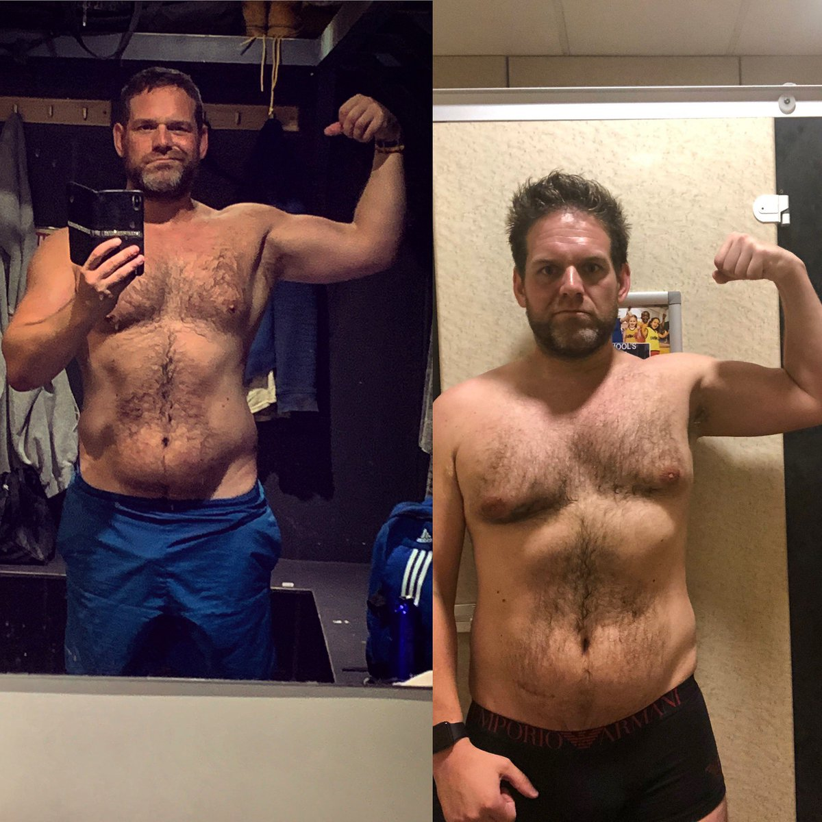 Progress after 5 months with @g18evans #progress #progresspic #rugby #muscle #fitness #bodybuilding #gym #training #fit #workout #strong #sport #instafit #rugbyunion #strength #goals #happy #rugbylove #rugbyplayer #rugbymen #hardwork<br>http://pic.twitter.com/axUJpeRvBG