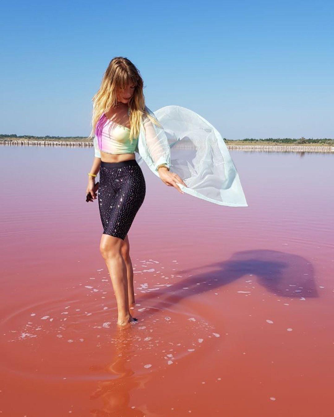 Лемурийское озеро в Херсонской области