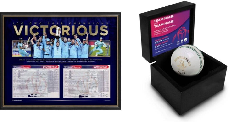 Your chance to own some incredible items from an unforgettable Cricket World Cup (we have a range of stuff including game-used balls, coins from the toss and one-of-a-kind scorecards (including the one from the Final)Join the LIVE AUCTION now ▶️http://bit.ly/CWC19liveauction …#CWC19
