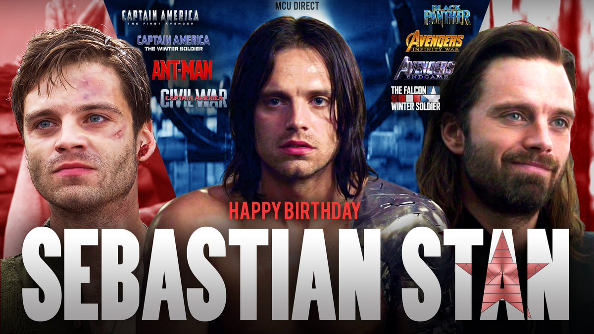Wishing a very happy birthday to the Bucky Barnes of the MCU, actor Sebastian Stan, as he turns 37 years old!