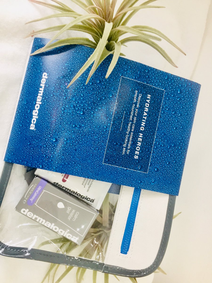 Were giving away Hydrating Heroes Dermalogica product. Like us and retweet for your chance to win. #WIN #Dermalogica #Augustgiveaway