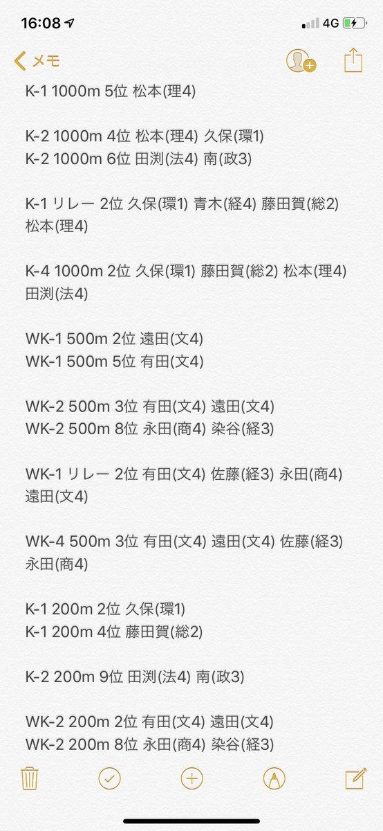 """慶應義塾體育會端艇部カヌー部門 on Twitter: """""""