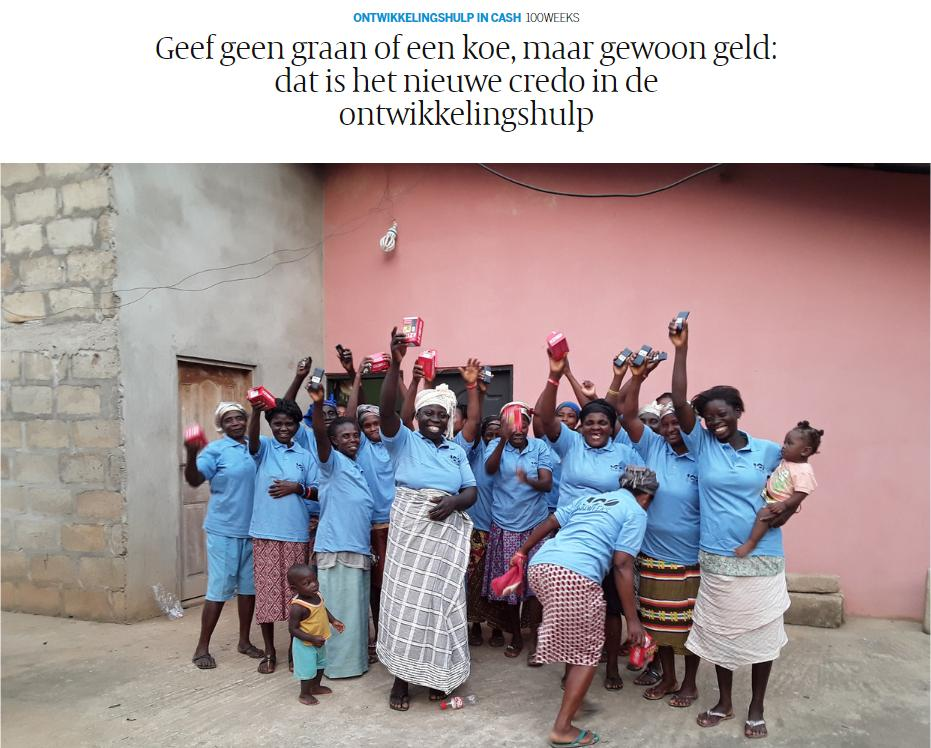 """test Twitter Media - Marleen Dekker (INCLUDE) in @volkskrant on cash transfers: """"Our research shows that people become more productive, invest in better seeds or other resources that increase productivity, enabling for their kids to go to school"""".  Read it here (in Dutch): https://t.co/VTBAIec9m1 https://t.co/od4rtXnBts"""
