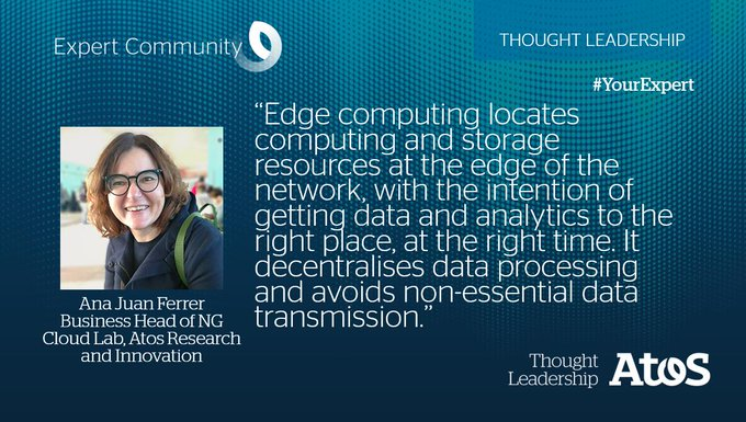 [#YourExpert] Take a look at the most accurate definition of #EdgeComputing according to Ana...