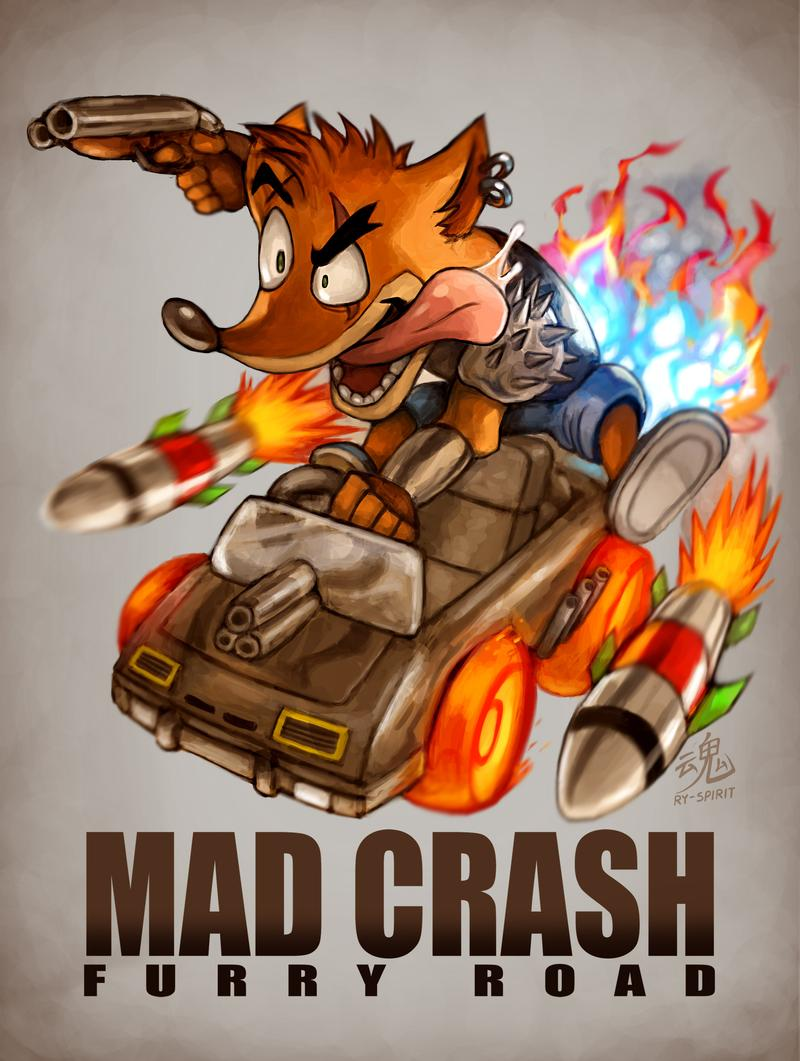 When you combine your fav kart game and fav racing action movie. You get this~  #crashbandicoot #CTRNitroFueled #madmax<br>http://pic.twitter.com/KI8pHdzcmi