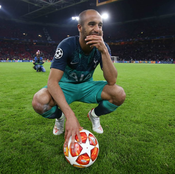 Happy 27th birthday to Lucas Moura. A hat-trick to get Spurs into the Champions League Final. Wow.