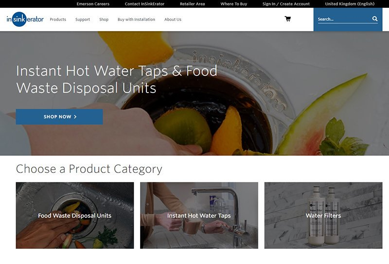 test Twitter Media - InSinkErator®, the inventor and global market leader of food waste disposers and a major player in the steaming hot water tap market, has announced the launch of its brand new website. Read the full story on our blog, available here: https://t.co/ZXE4i0lwTd https://t.co/yF8IKE2EZx