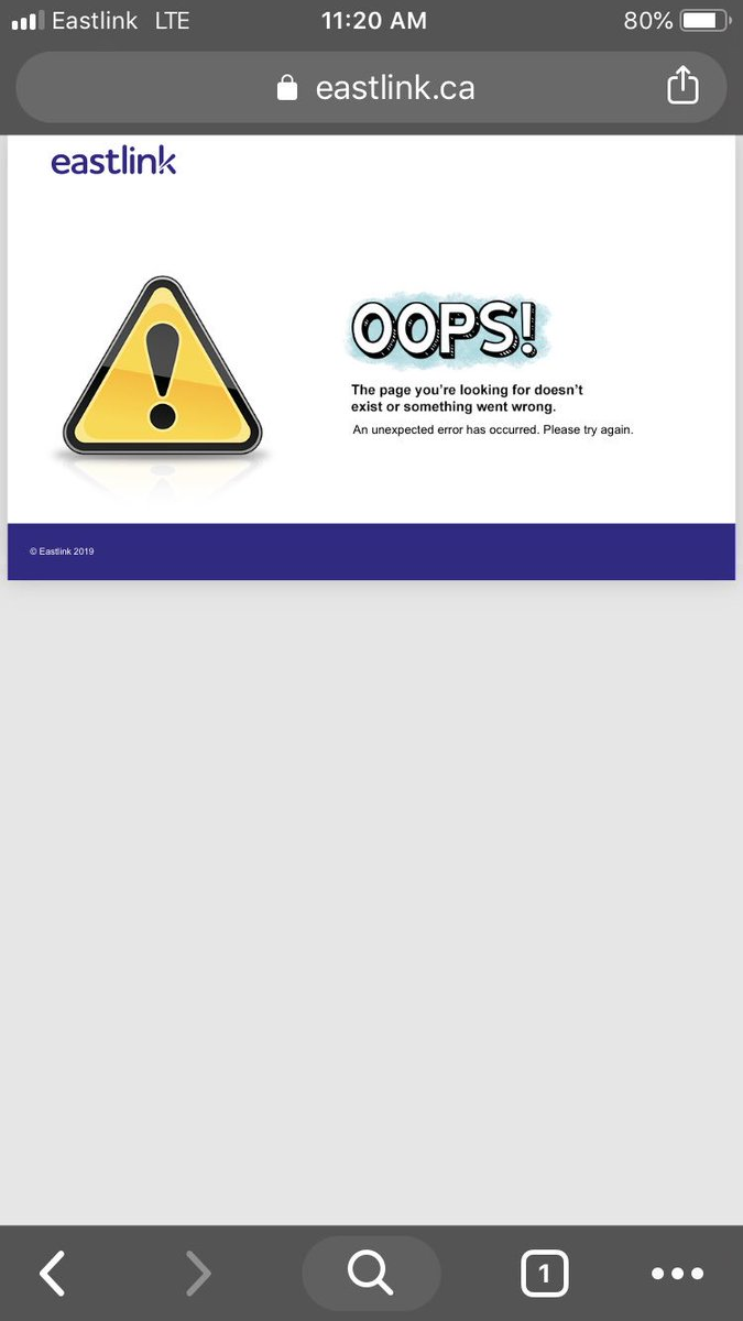 Eastlink Outage: Service Down and Not Working - Outage