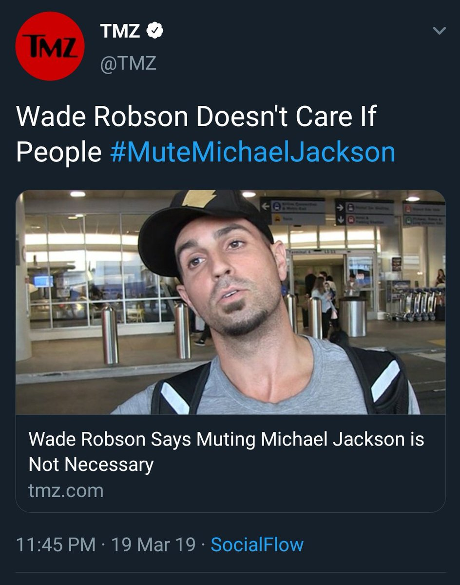 Wade Robson: No need to cancel #MichaelJackson. Also Wade Robson: Why aren't you cancelling #MichaelJackson?  Dude, you changed versions of your stories multiple times. At least stick to this one! Confused personality! #LeavingNeverland #IKnewLeavingNeverlandWasBS <br>http://pic.twitter.com/HdRXyGYuBB