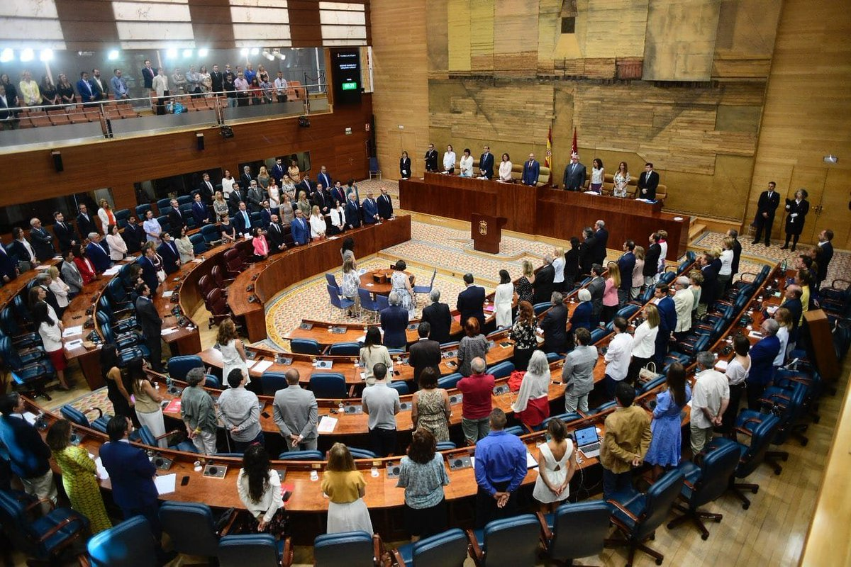Foto cedida por Asamblea de Madrid