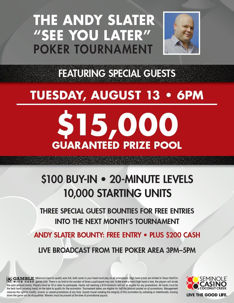 Seminole Casino Coconut Creek Poker (@CasinoCocoPoker) | Twitter