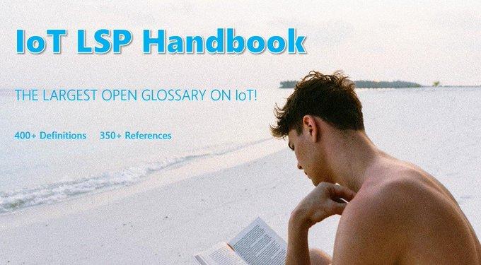 Para lo que queda del verano... Te recomendamos el manual de IoT para Pilotos...