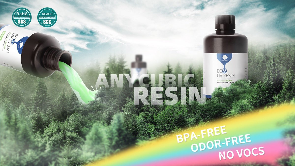 Just saw some new resin on Facebook from @anycubic3dprint