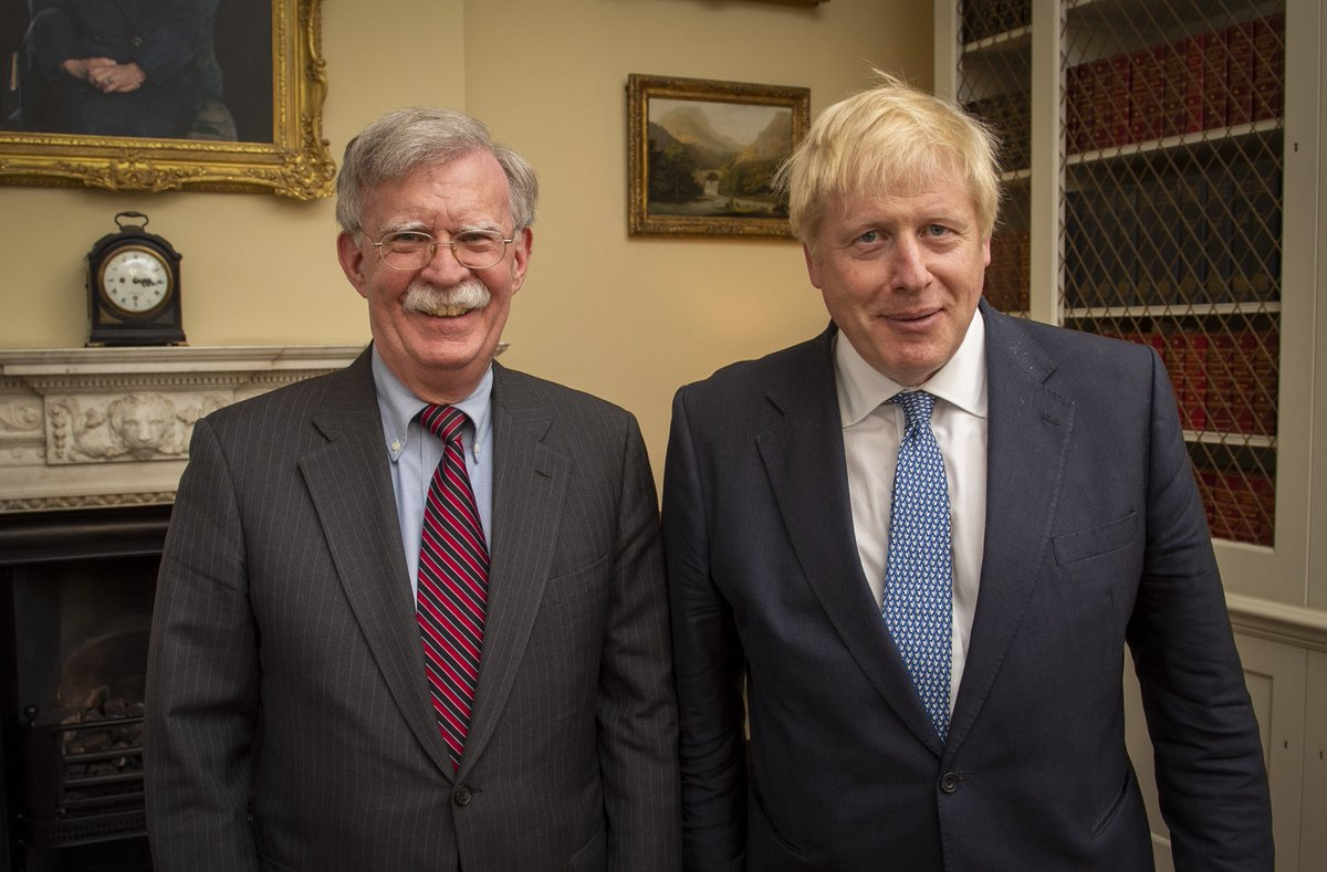 I had a great meeting with UK Prime Minister Boris Johnson yesterday. We discussed trade, security, and opportunities to deepen our bilateral relationship after the UK leaves the EU. The US and UK are on course for an unprecedented partnership.