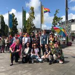 Image for the Tweet beginning: Day 1 of Galway Pride