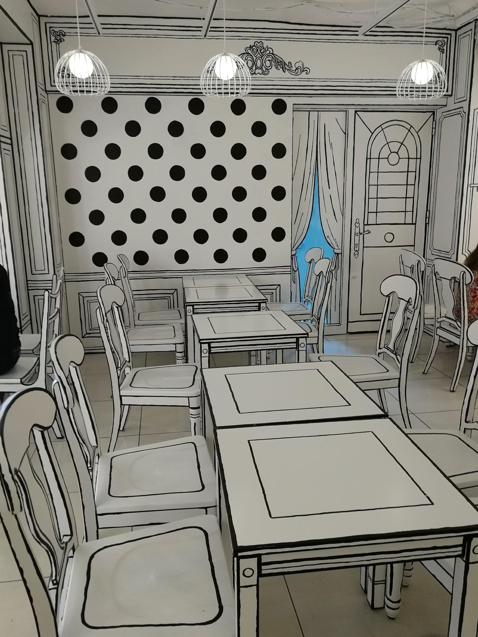 漫画の中に飛び込んだよう!?新大久保に「2Dカフェ」がオープン!
