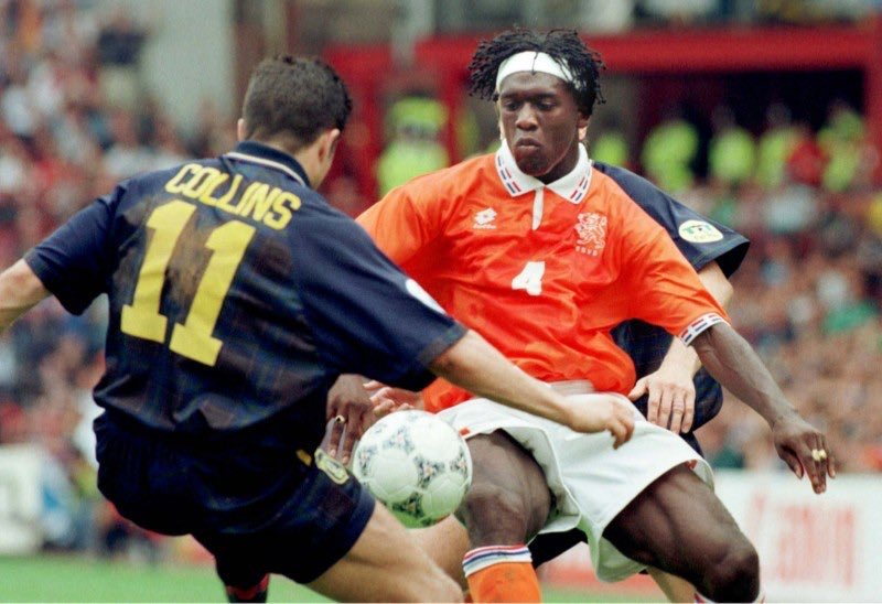 John Collins and Clarence Seedorf.